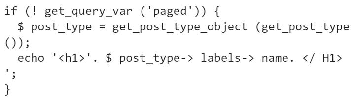 Как правильно оформить страницы архивов WordPress