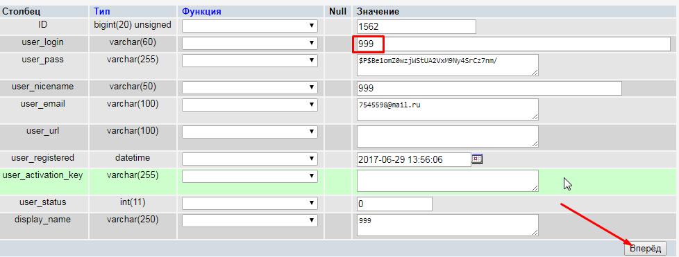 3 способа изменить логин администратора в wordpress